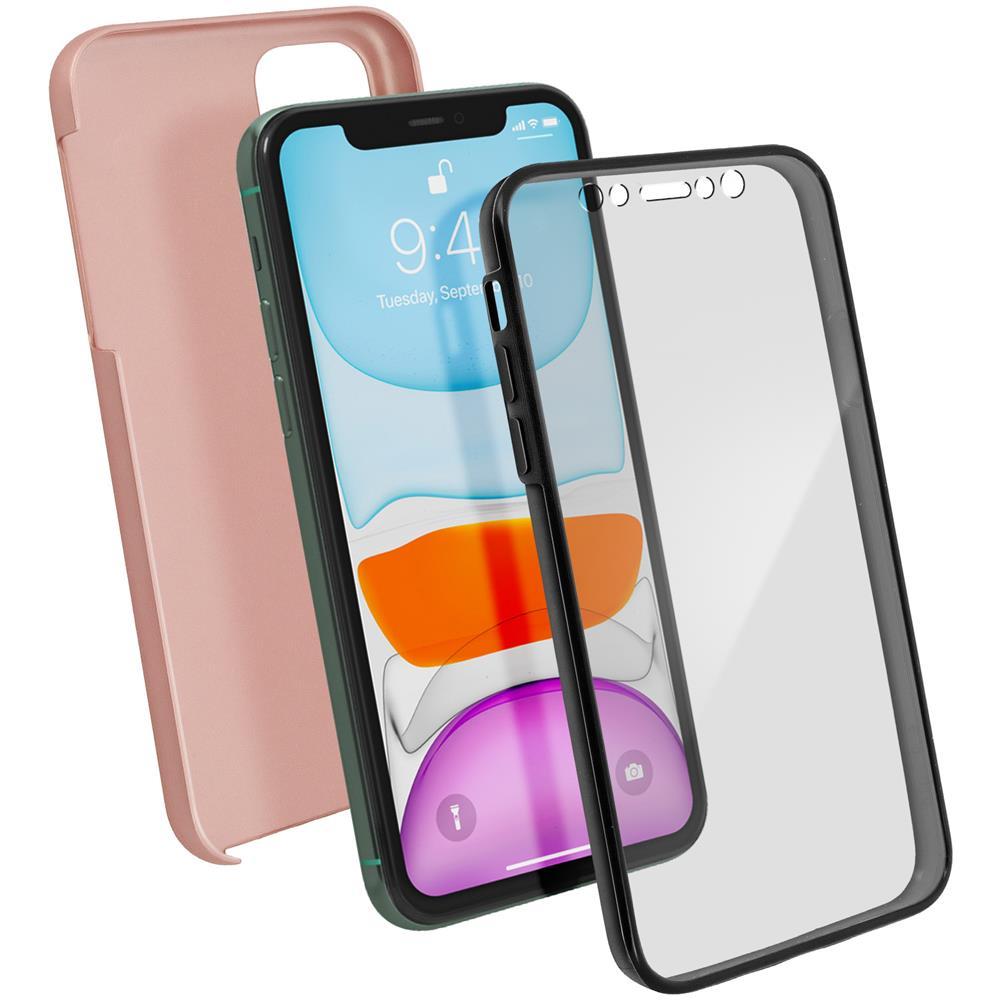 mocca - Cover Fronte Retro Integrale Apple Iphone Se 5 E 5s Mocca