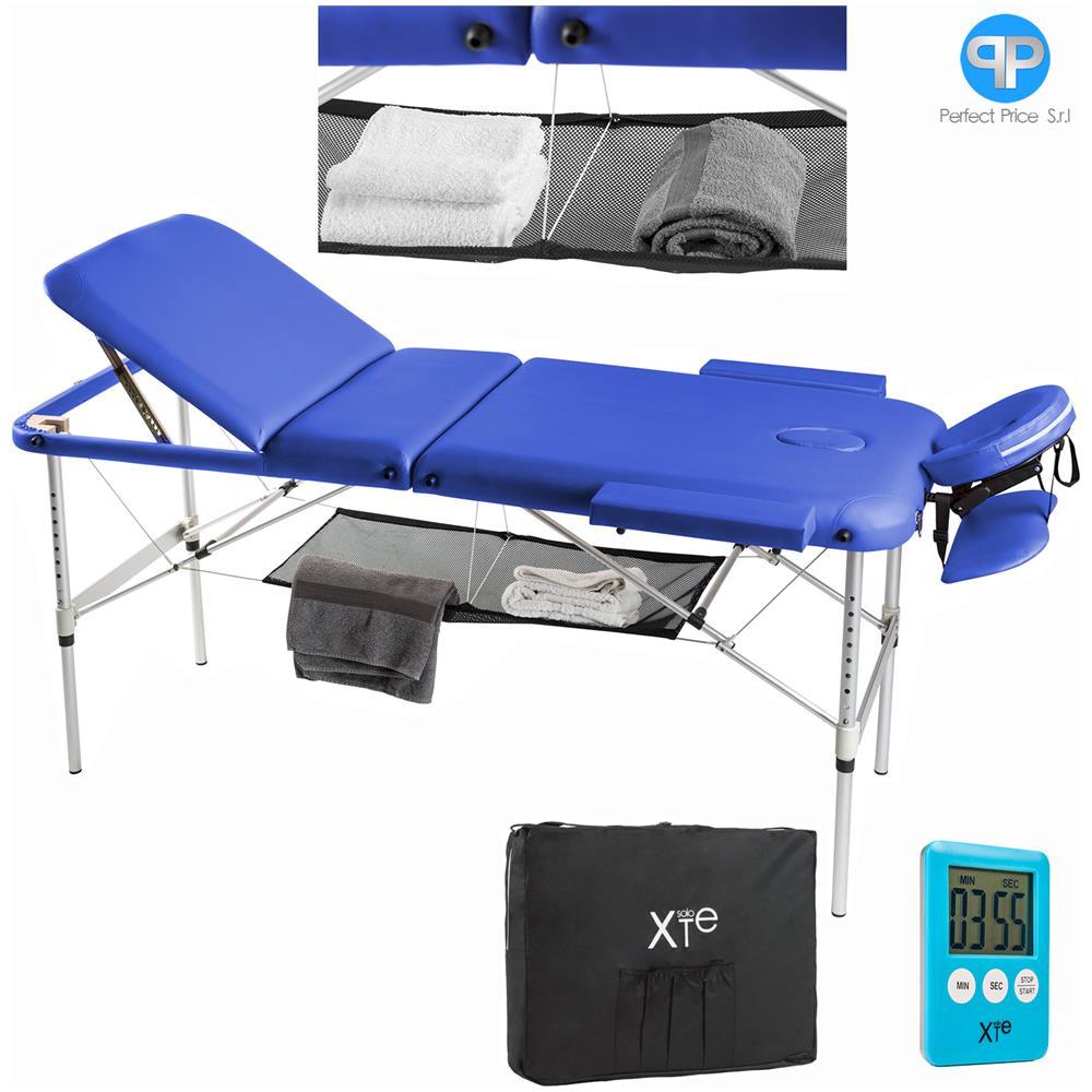 Lettino Da Massaggio Portatile In Alluminio.Soloxte Lettino Da Massaggio Lettini Per Massaggi Estetica 3