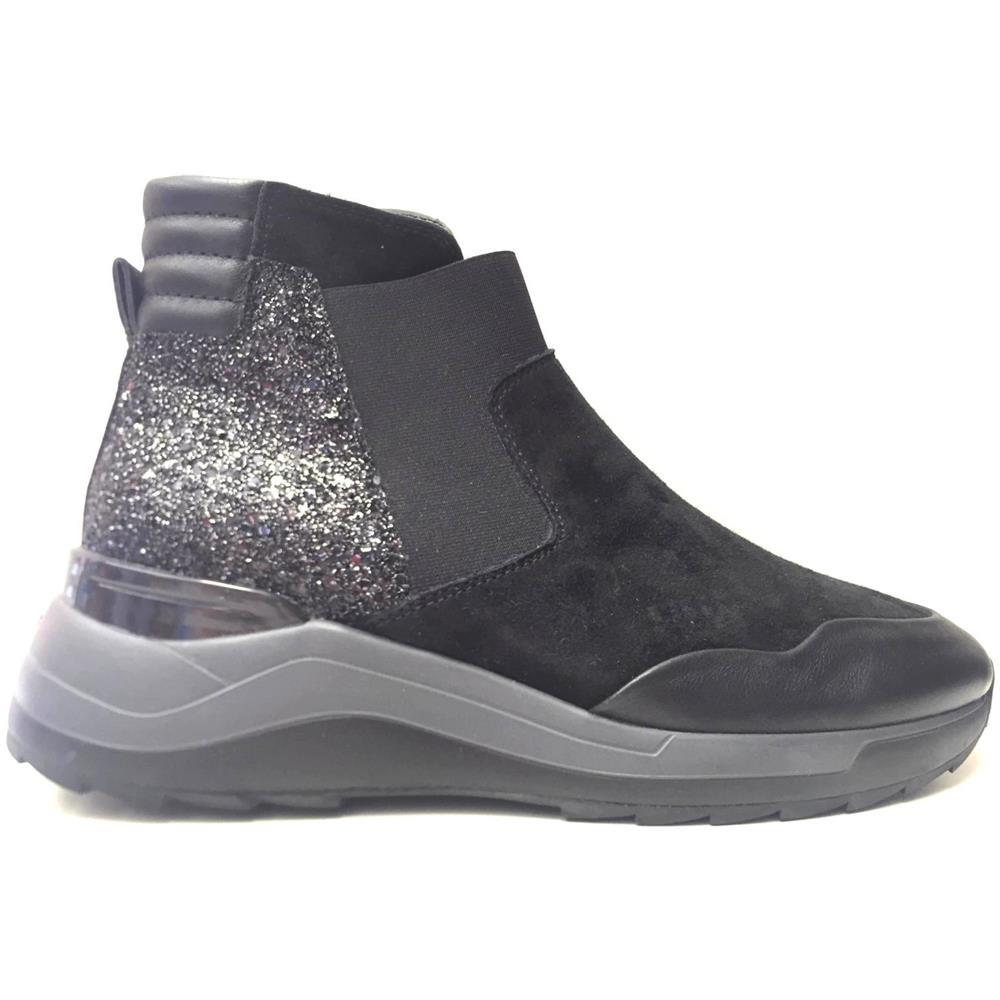HOGAN Scarpe Sneakers Donna Hogan Hxw00t00f90mmb999 Slip On Pelle Originale Pe New Taglia 39 Colore Nero