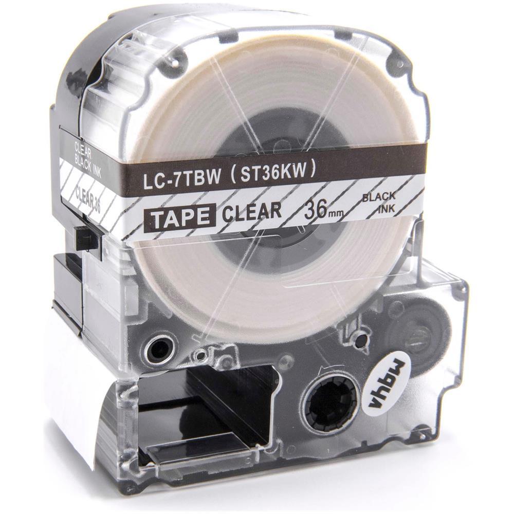 Carattere della stampante CARTUCCIA a nastro 9mm NERO-ROSSO PER EPSON LABELWORKS lw-300