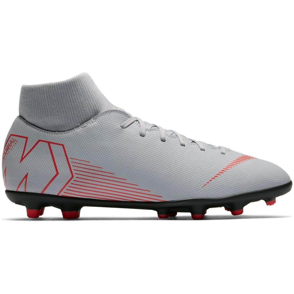 NIKE Scarpe Calcio Nike Mercurial Superfly Vi Club Mg Raised On Concrete Pack Taglia 44,5 Colore: Grigio rosa