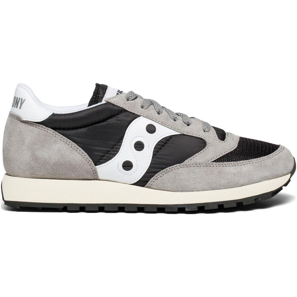SAUCONY Jazz Original Vintage Scarpe Sneakers Uomo Grey black white 41 Eu