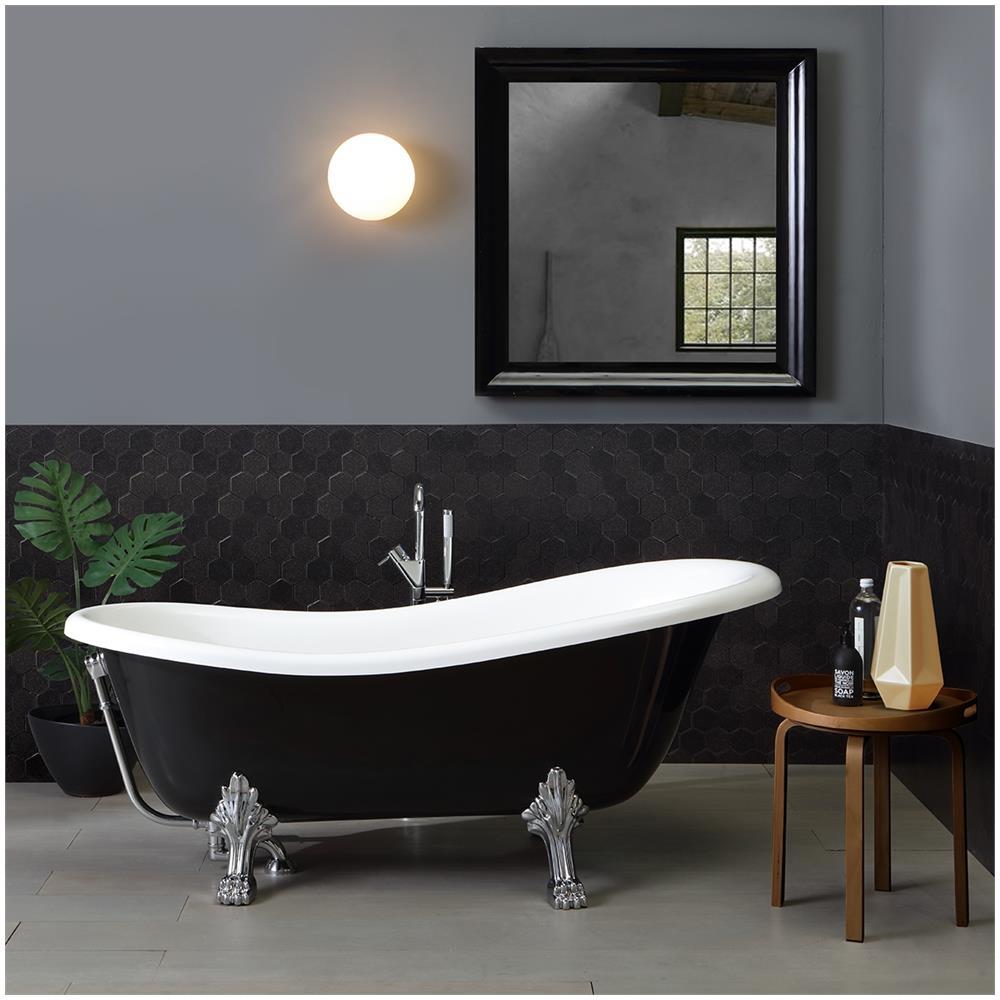 Bagno Romantico In Due kiamami valentina vasca da bagno stile classico in bianco e nero romantica
