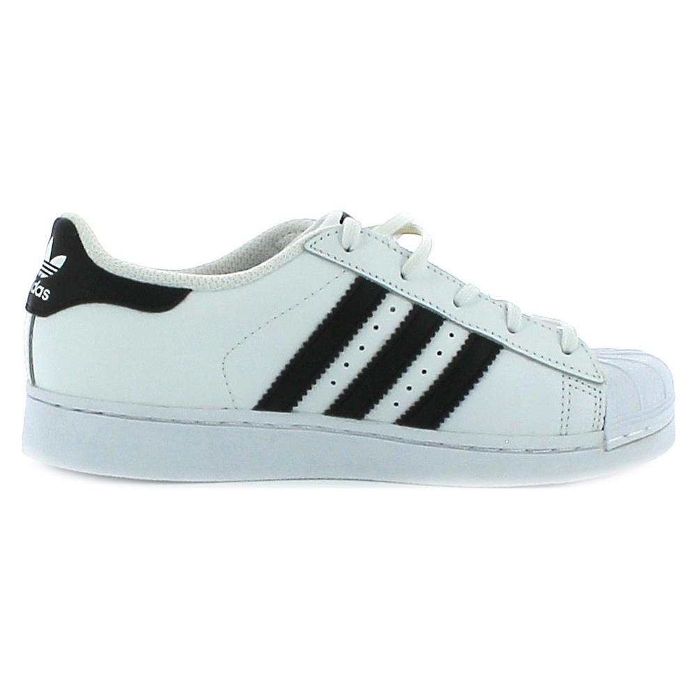 295be3a02b Adidas - Scarpe Sportive Bianche Superstar Foundation C 33 - ePRICE