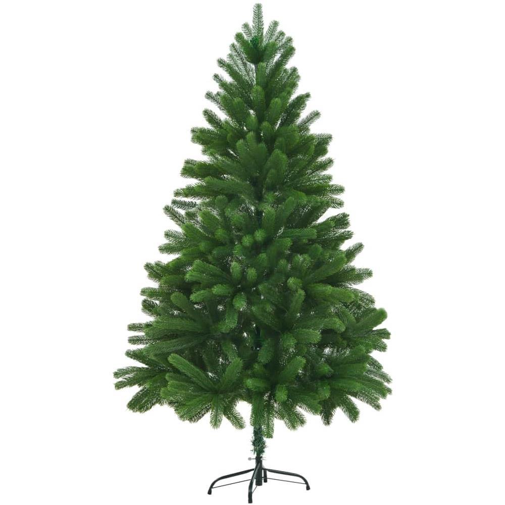 Albero Di Natale 210.Vidaxl Albero Di Natale Artificiale Con Aghi Realistici 210 Cm Verde Eprice