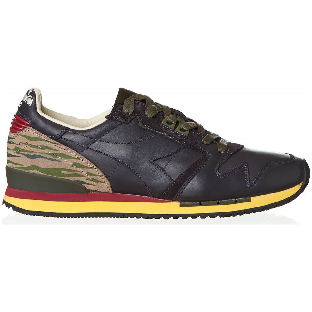 DIADORA Scarpe Sneakers Uomo Diadora Heritage Exodus L 161889 55153 Pelle Originale Ai Taglia 41 Colore Viola