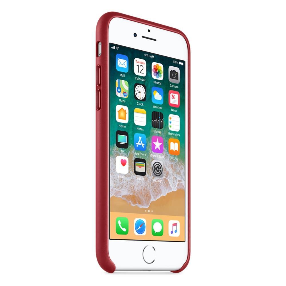 APPLE - Cover in Pelle per iPhone X Colore Rosso - ePRICE