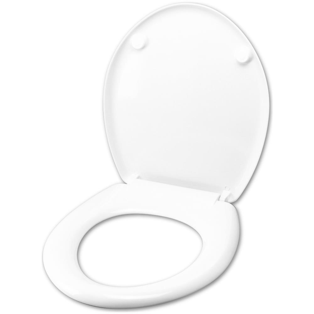 Vaso Ceramica Dolomite Miky.Idrotop Copriwater Copriwater Per Dolomite Miky Termoindurente Bianco Cerniera Inox Normale