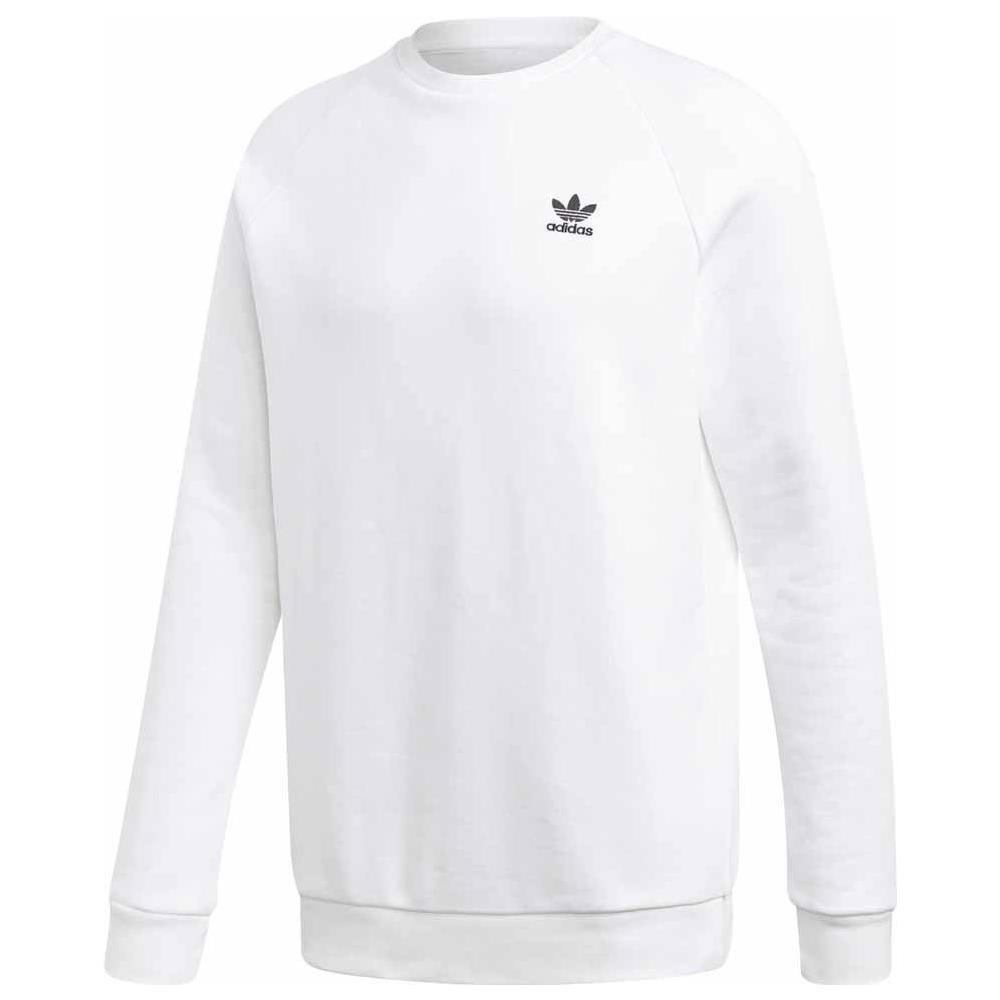 adidas - Felpe Adidas Originals Essential Crew Abbigliamento Uomo Xl ... fa02848afa33