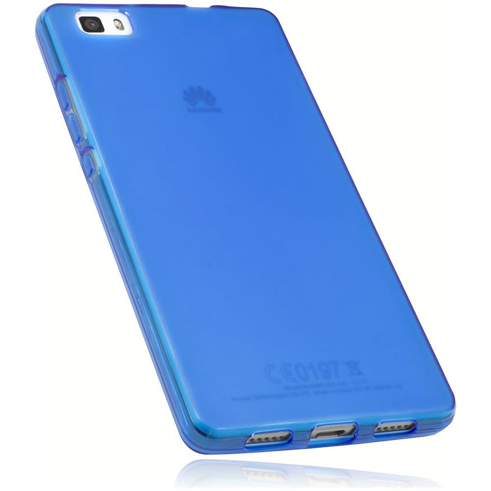 MUMBI 11908-HUAWEI-P8-LITE Cover Blu custodia per cellulare