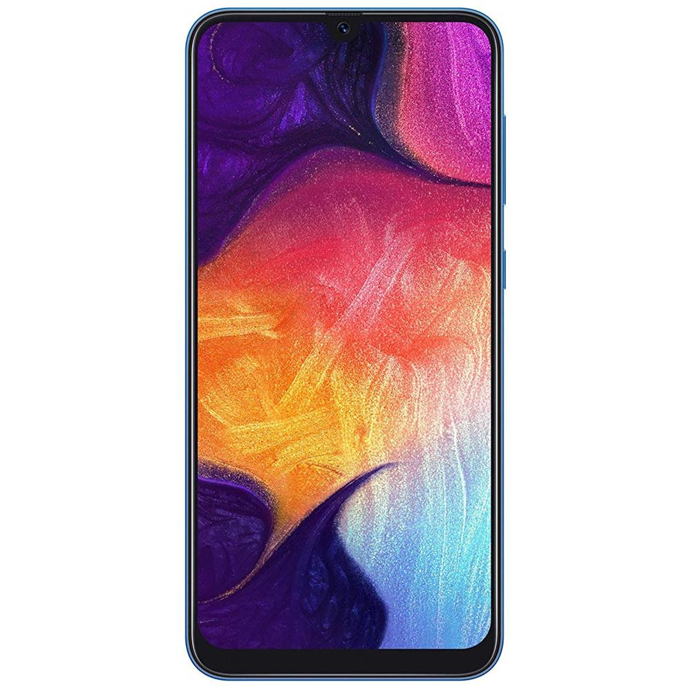 060e6a53f16 SAMSUNG - Galaxy A50 Blu 128 GB 4G / LTE Dual Sim Display 6.4