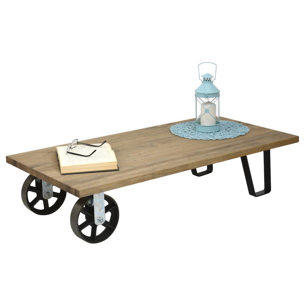 Tavolini Da Salotto Vintage.Ds Muebles Tavolino Da Salotto Due Ruote Due Piedini Stile