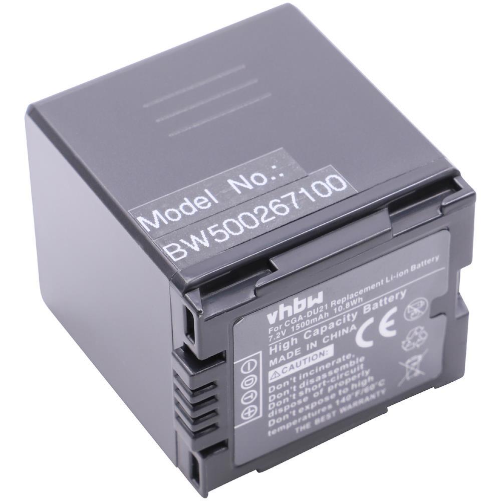 ORIGINALE VHBW ® Batteria per Panasonic cga-du21 NV-GS-SERIE gs17 gs22