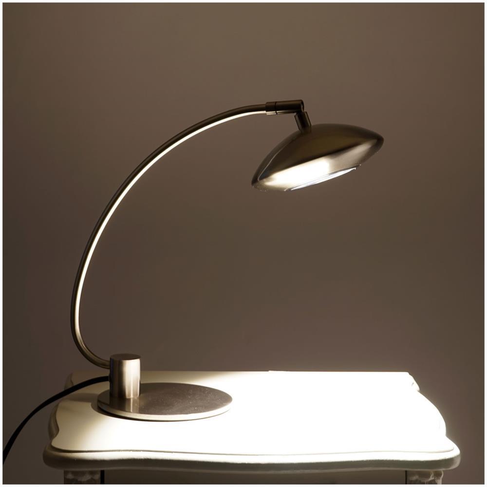 Mendler Lampada Da Tavolo Design Moderno Led Paralume Orientabile 14x29x36cm Eprice