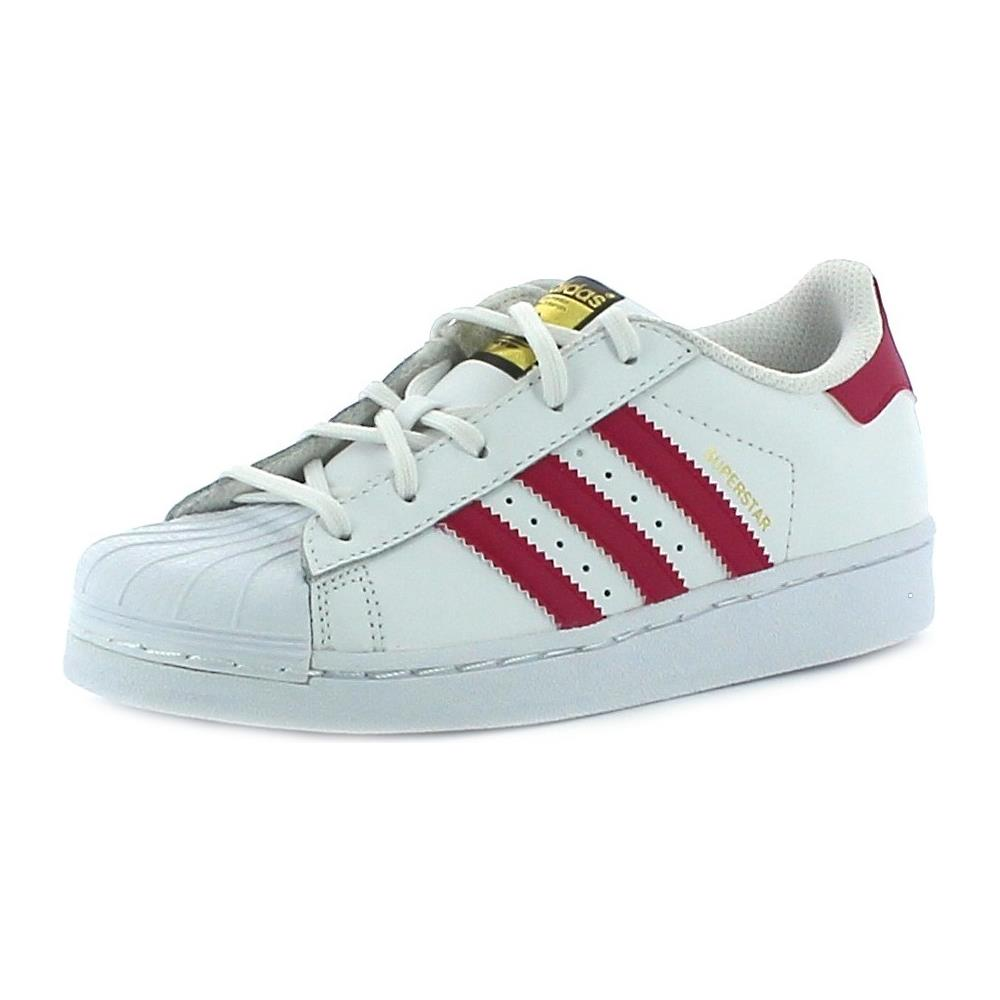 new product 11613 23828 Adidas - Scarpe Sportive Bambina Superstar Foundation C 30 -