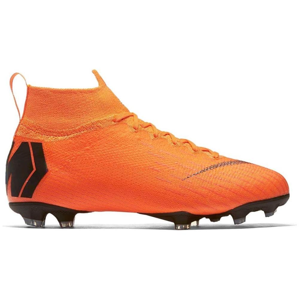NIKE Scarpe Calcio Bambino Nike Mercurial Superfly Vi Elite Fg Taglia 38 Colore: Arancio