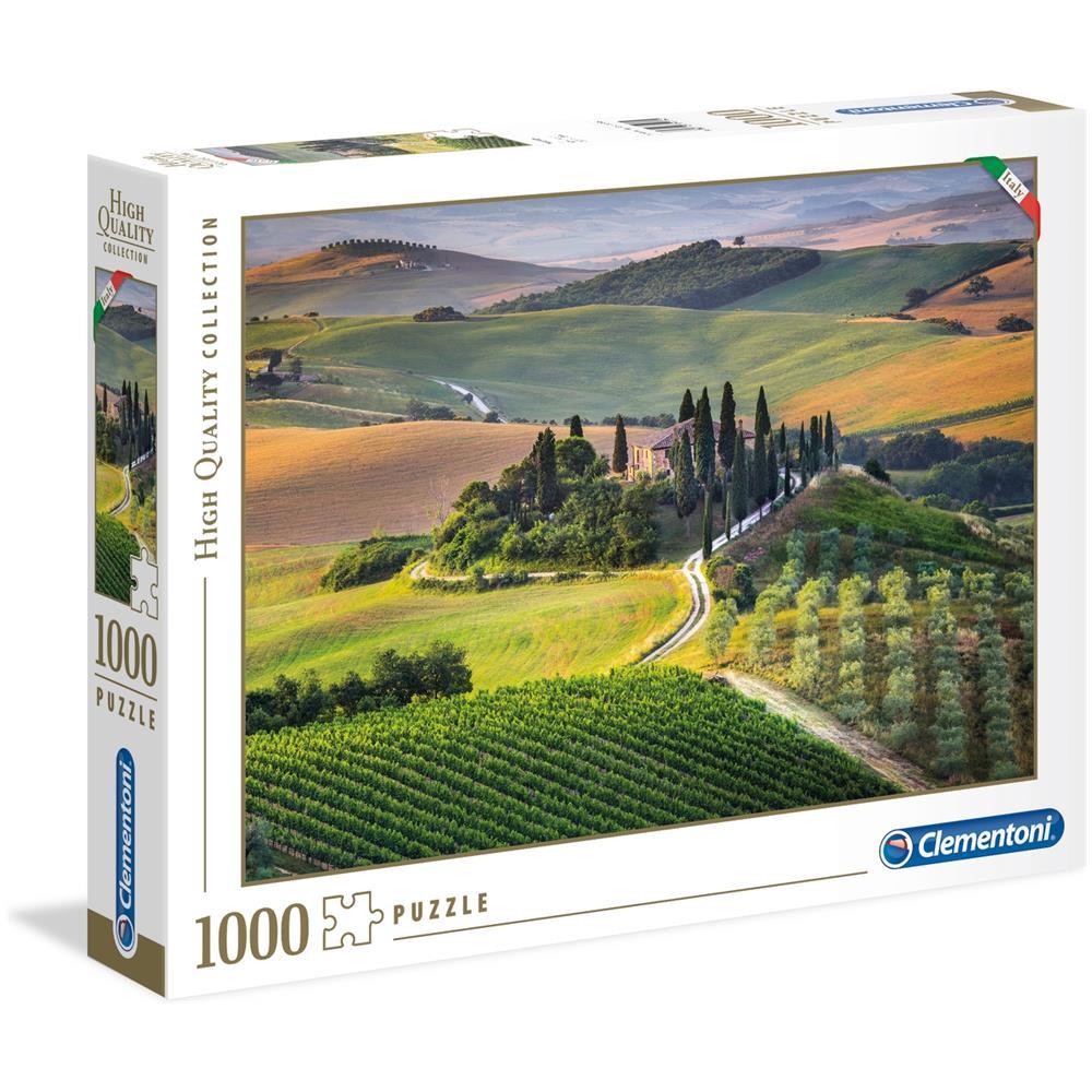 CLM39456 Puzzle da 1000 Pezzi - Tuscany