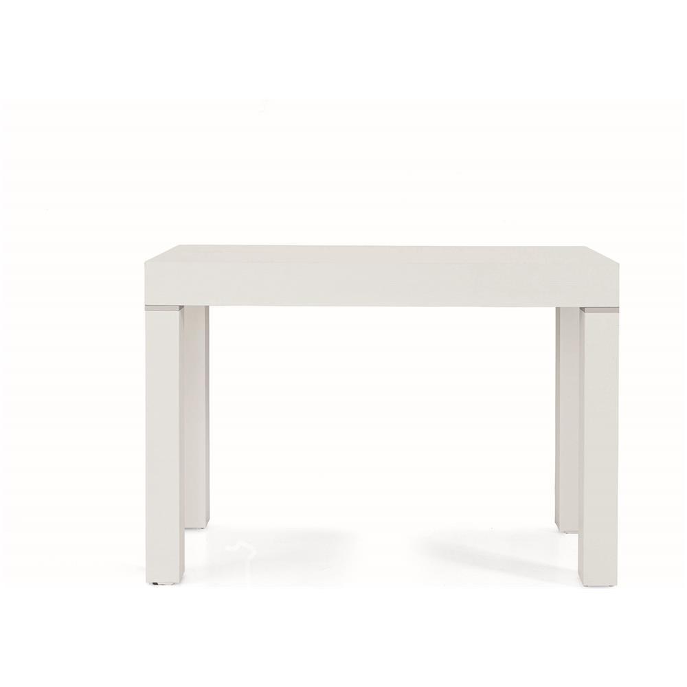 Fashion Commerce Tavolo Consolle Allungabile Bianco 110 50 110 300 Cm Eprice