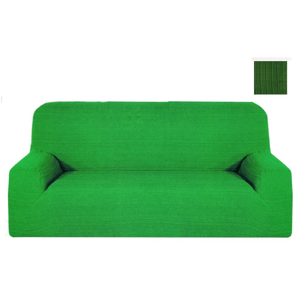 Divano 170 Cm.Takestop Copridivano 3 Posti Verde Melody Estendibile Da 170 A 250 Cm Salvadivano Copri Divano Tessuto Elasticizzato Made In Italy