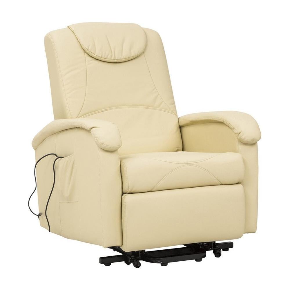 Poltrone Per Anziani Massaggianti.Milanihome Poltrona Elettrica Massaggiante Beige Per Interno