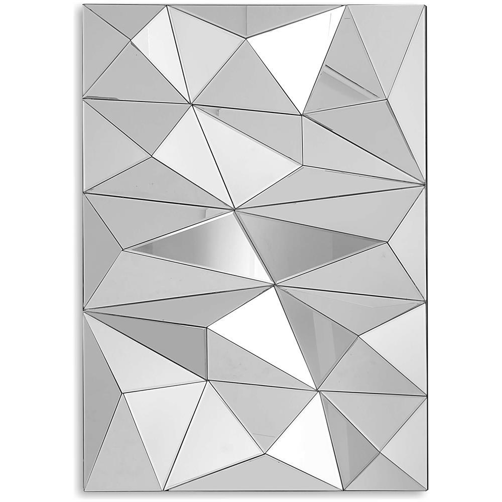 Pareti A Specchio Design arte dal mondo specchio triangoli a sbalzo specchio di design decorativo  moderno grande da parete hm035a10070
