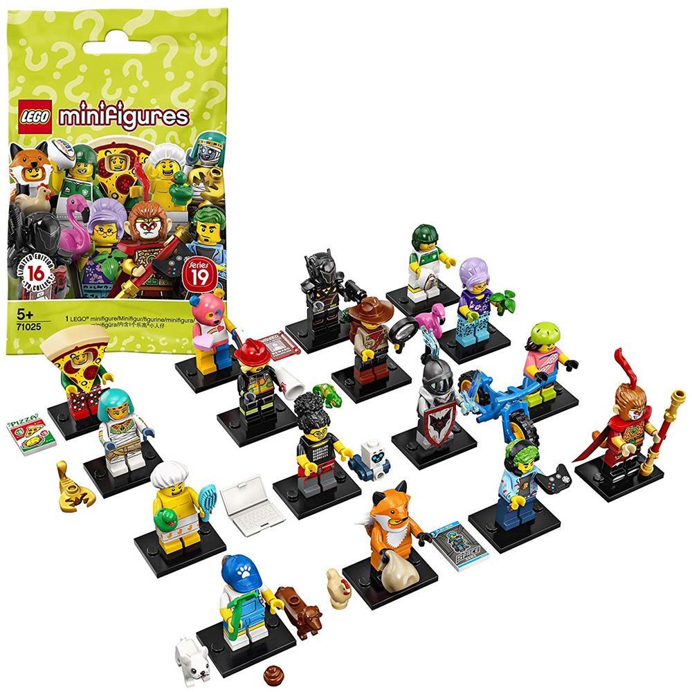lego minifigures serie 25