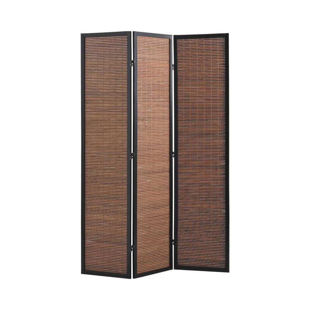PEGANE - Paravento In Legno Bambù Di 3 Pannelli - ePRICE