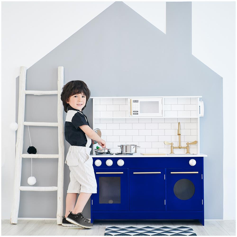 Teamson Kids - Cucina Giocattolo Blu In Legno Per Bambini E Bambine ...