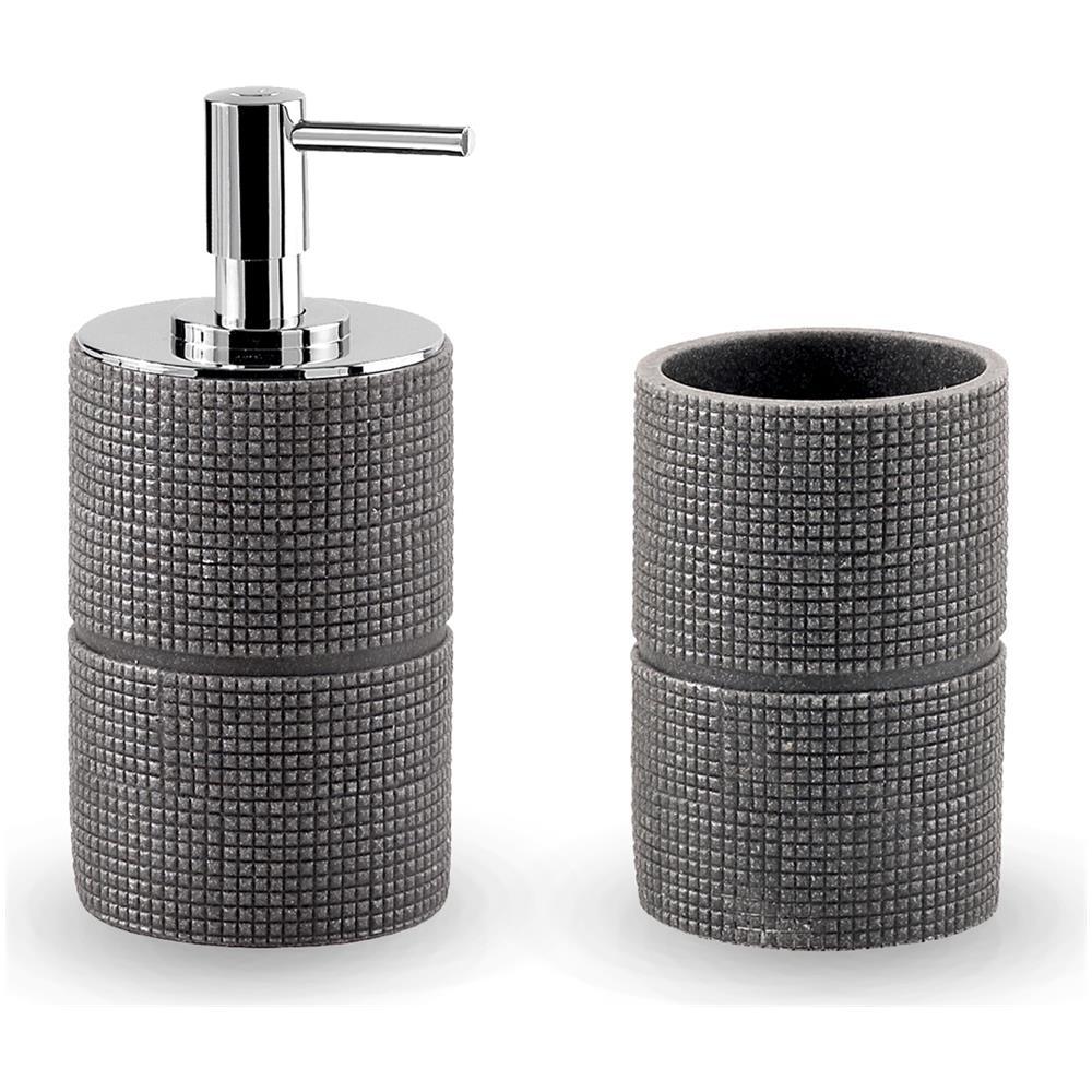 Serie Completa Accessori Bagno.Kiamami Valentina Set Accessori Bagno Per Lavabo