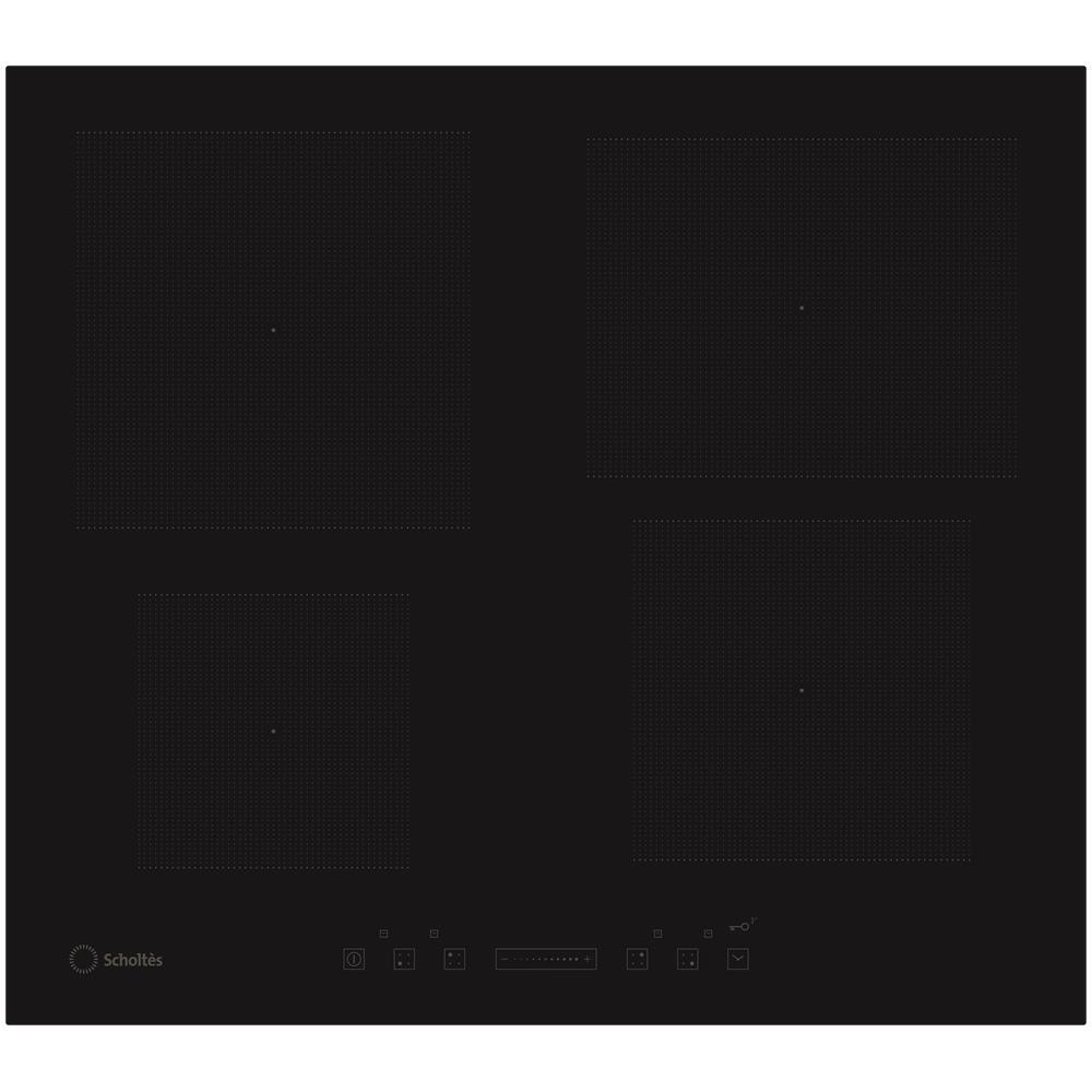 SCHOLTES - Piano Cottura TIS 640 O A a Induzione 4 Zone Cottura da ...