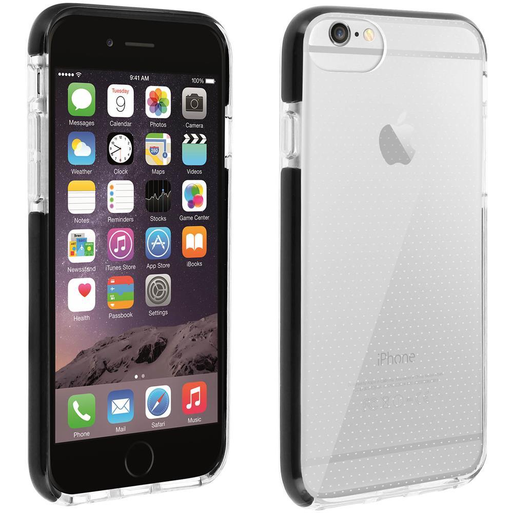 AKASHI Cover Iphone 6 Plus / 6 Plus / 7 Plus / 8 Plus Contorno Bumper Trasparente Akashi