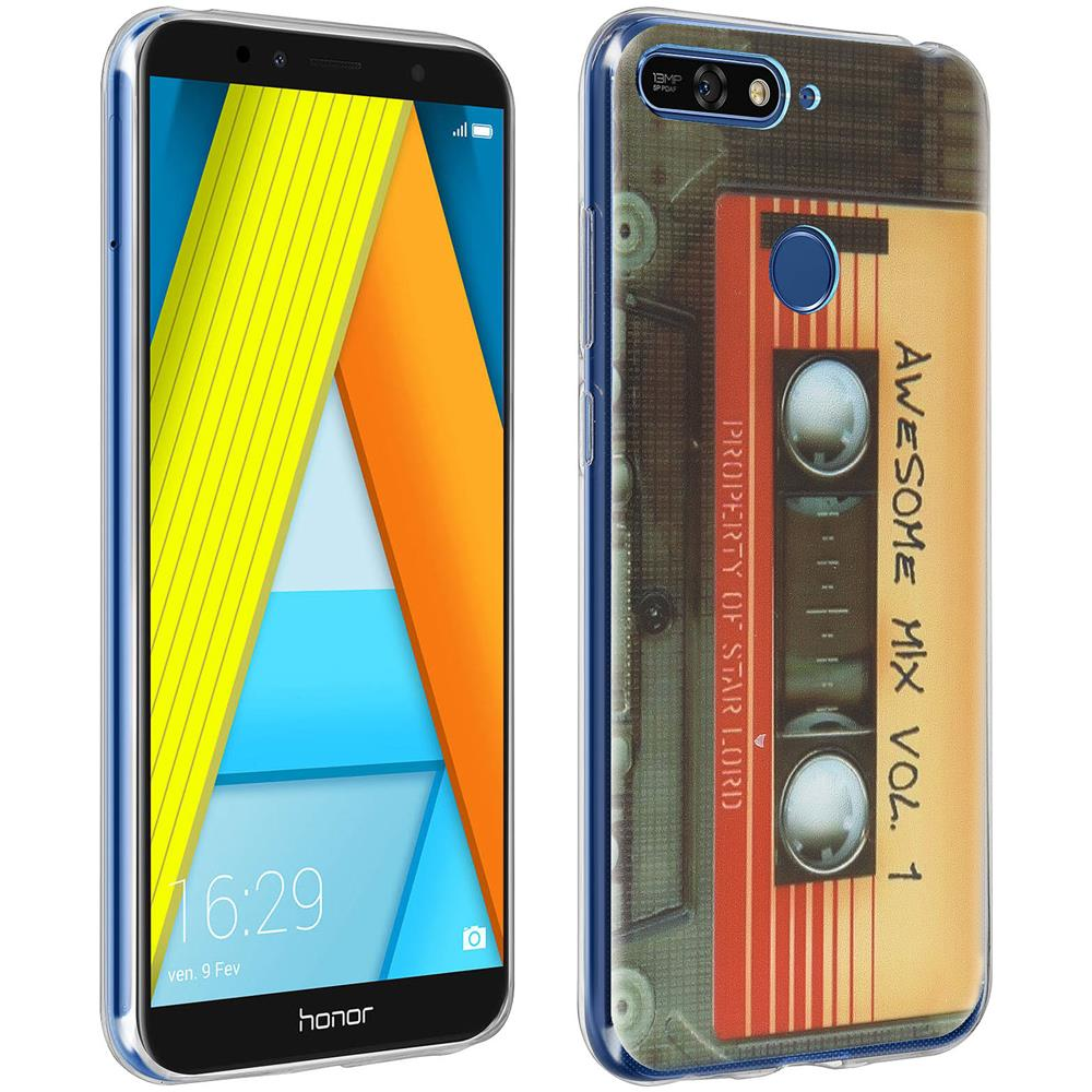 cover huawei y6 2018 silicone colorate