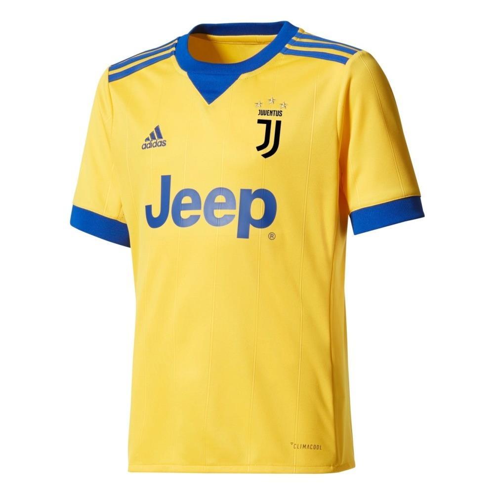 adidas Maglia Calcio Juve Away Jr 17/18 - Taglia: 15/16a - Colore: Giallo Blu