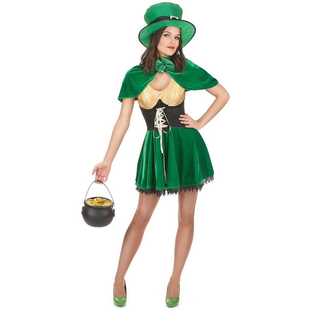 6682d51e8f406 FESTIVIFETE - Costume Da Folletto Di San Patrizio Per Donna Medium - ePRICE