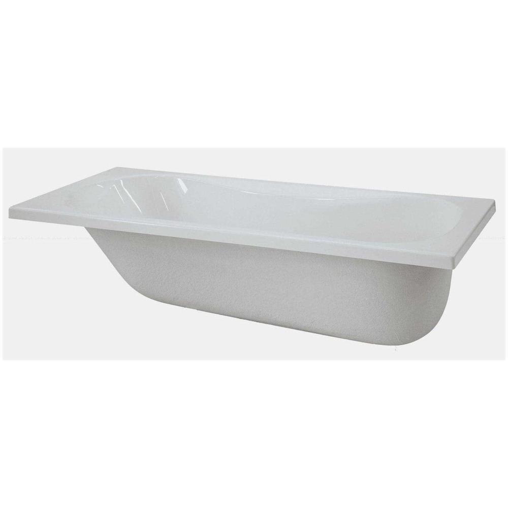 Ricoprire Vasca Da Bagno Prezzi novellini calypso vasca da bagno versione standard da incasso misura 170x70  guscio tradizionale da rivestire materiale acrilico finitura bianco lucido