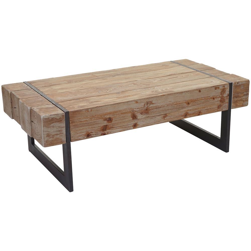 Mendler - Tavolino Da Salotto Hwc-a15a Legno Pino Massello ...