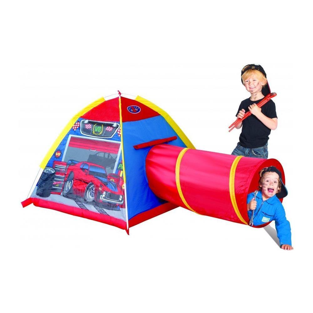 Tende Da Gioco Per Bambini.Micasa Tenda Da Gioco Garage Con Tunnel Per Bambini Giocattolo