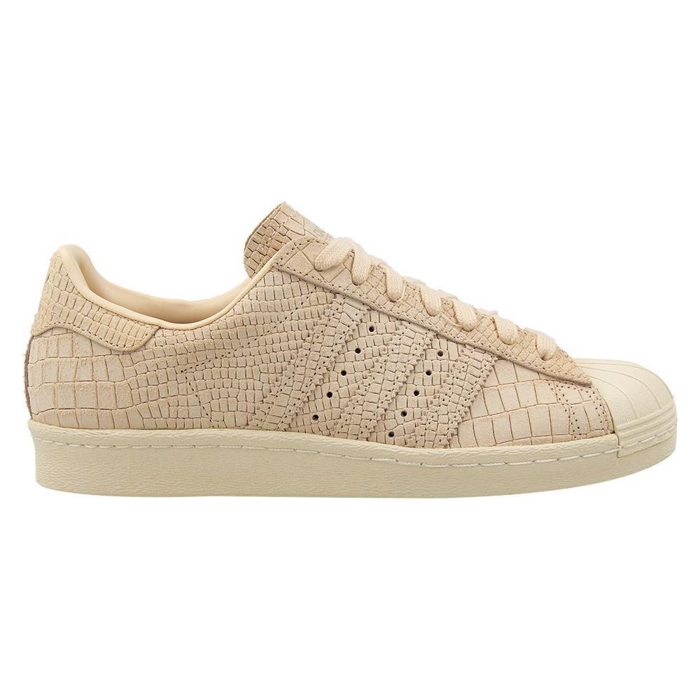 adidas Scarpe W Superstar 80s Cq2515 Taglia 37,3 Colore Beige