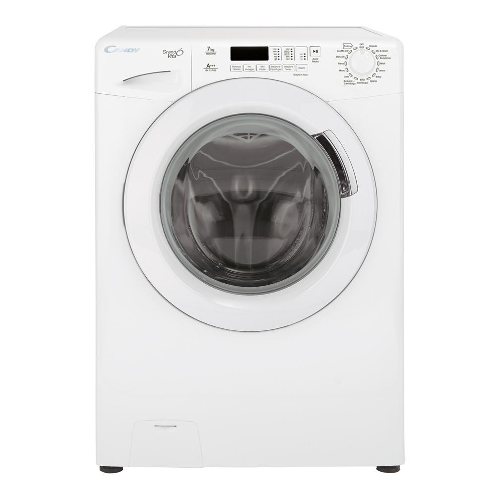 candy - lavatrice standard gv137d3 grandò 7 kg classe a+++