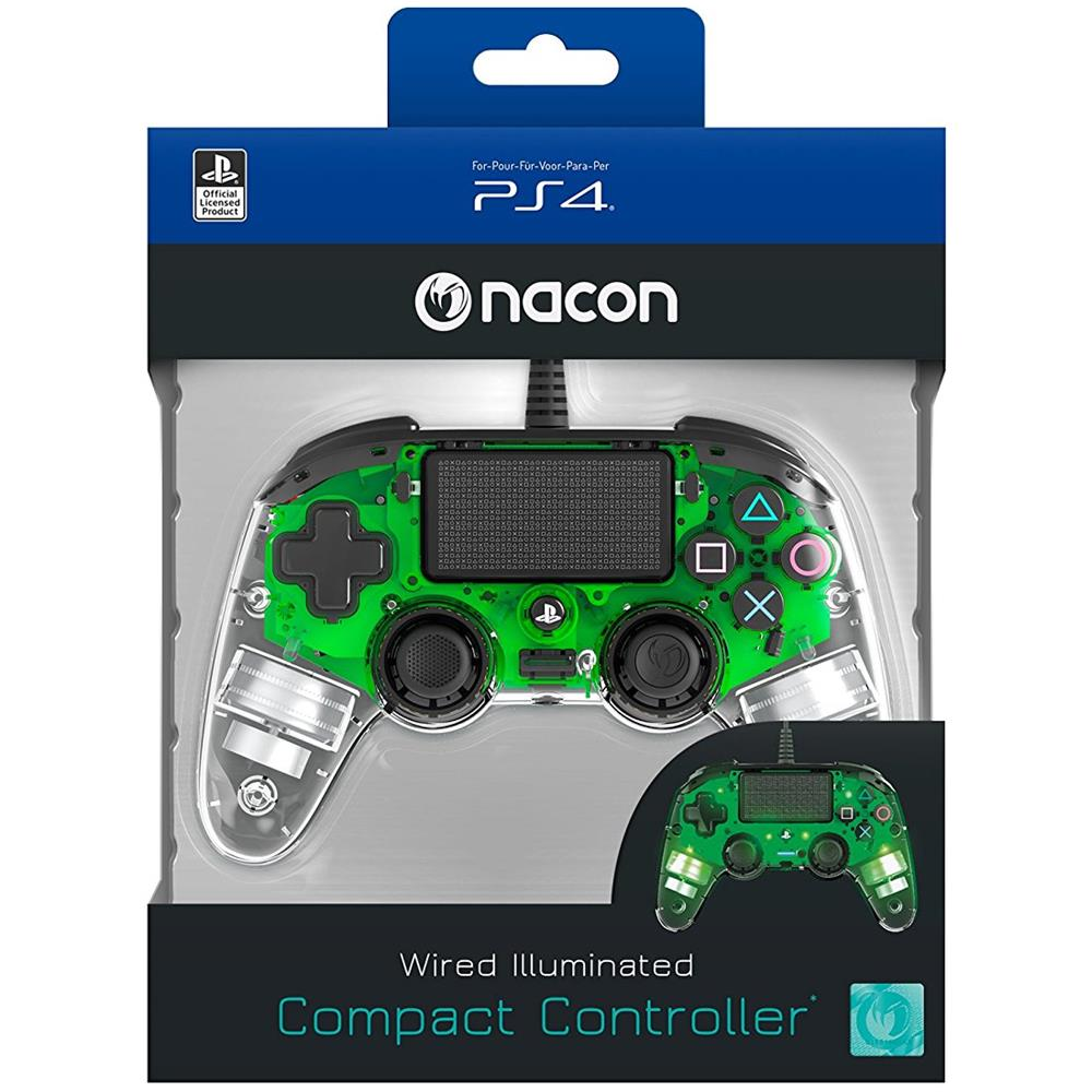 Controller Wired Verde PS4