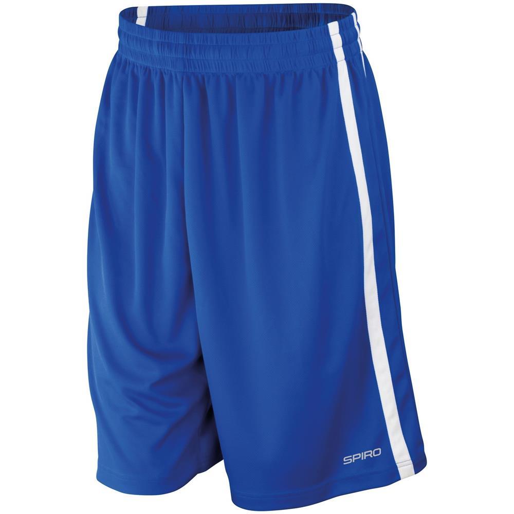 Spiro - Pantaloni Corti Da Basket Uomo (l) (blu Reale   bianco) - ePRICE 1822a82d19dd