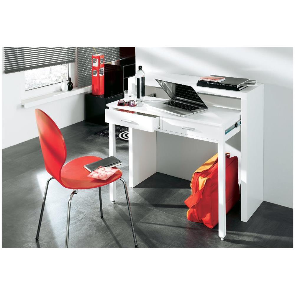 Consolle Scrivania Con Finiture Lucide.Comfort Home Innovation Tavolo Allungabile Da Scrivania Console