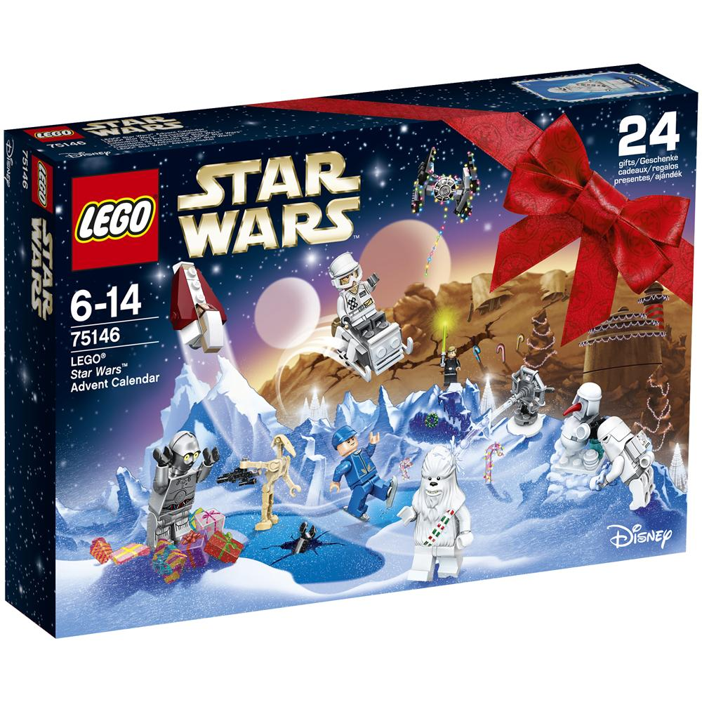 Calendario Avvento Lego City.Lego 75146 Calendario Dell Avvento Lego Star Wars
