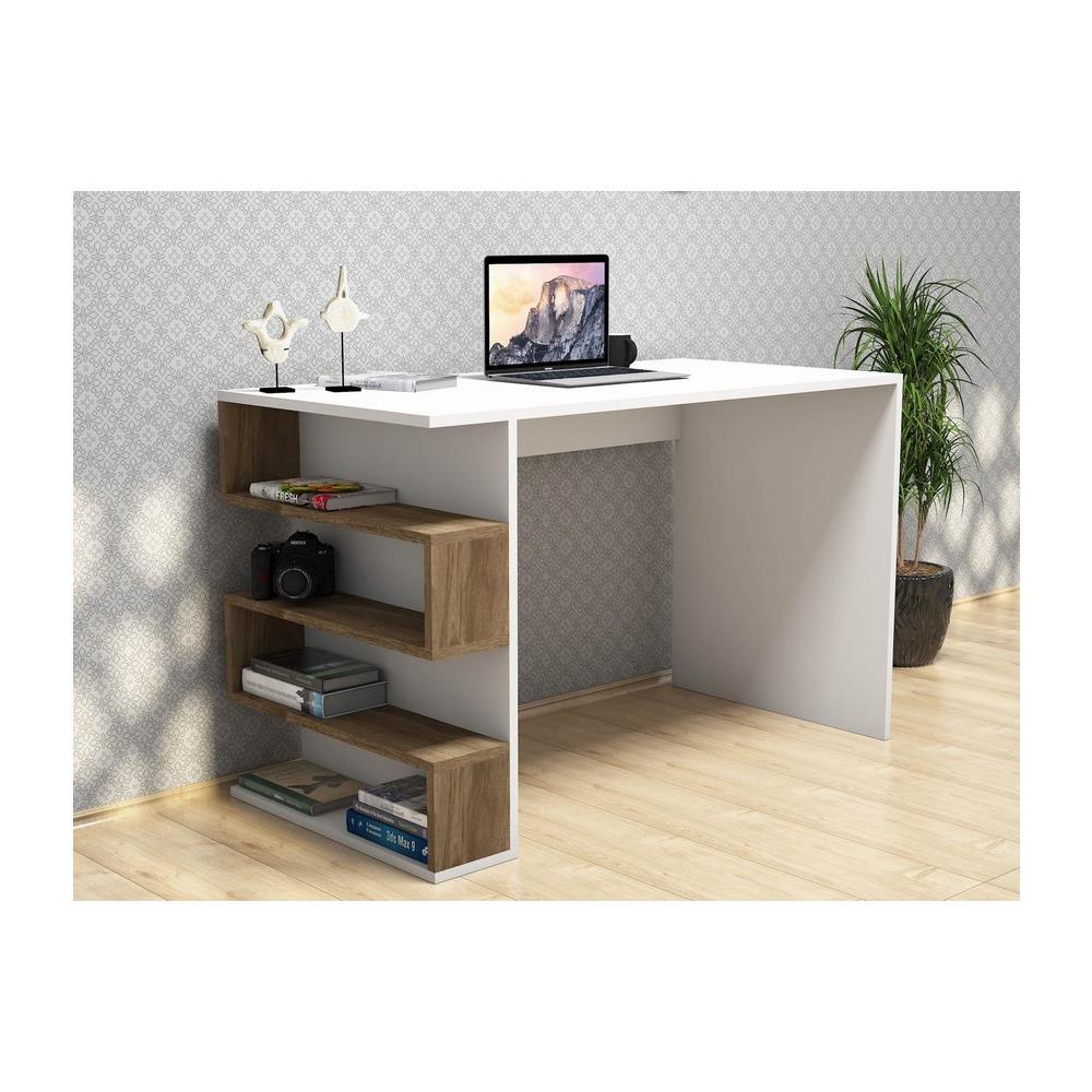 Mobili Porta Computer Prezzo.Homemania Scrivania Porta Pc Mensola Ripiani Ufficio Limber