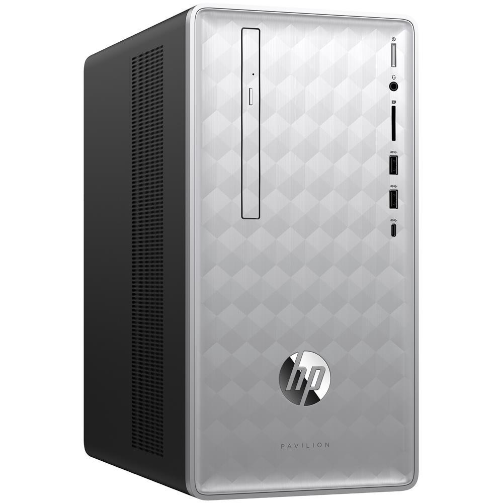 Pc Desktop Pavilion 590-P0004NL AMD A10-9700 Quad Core 3.5 GHz Ram 12GB Hard Disk 1TB AMD Radeon RX 550 2GB 7xUSB 3.0 Windows 10 Home