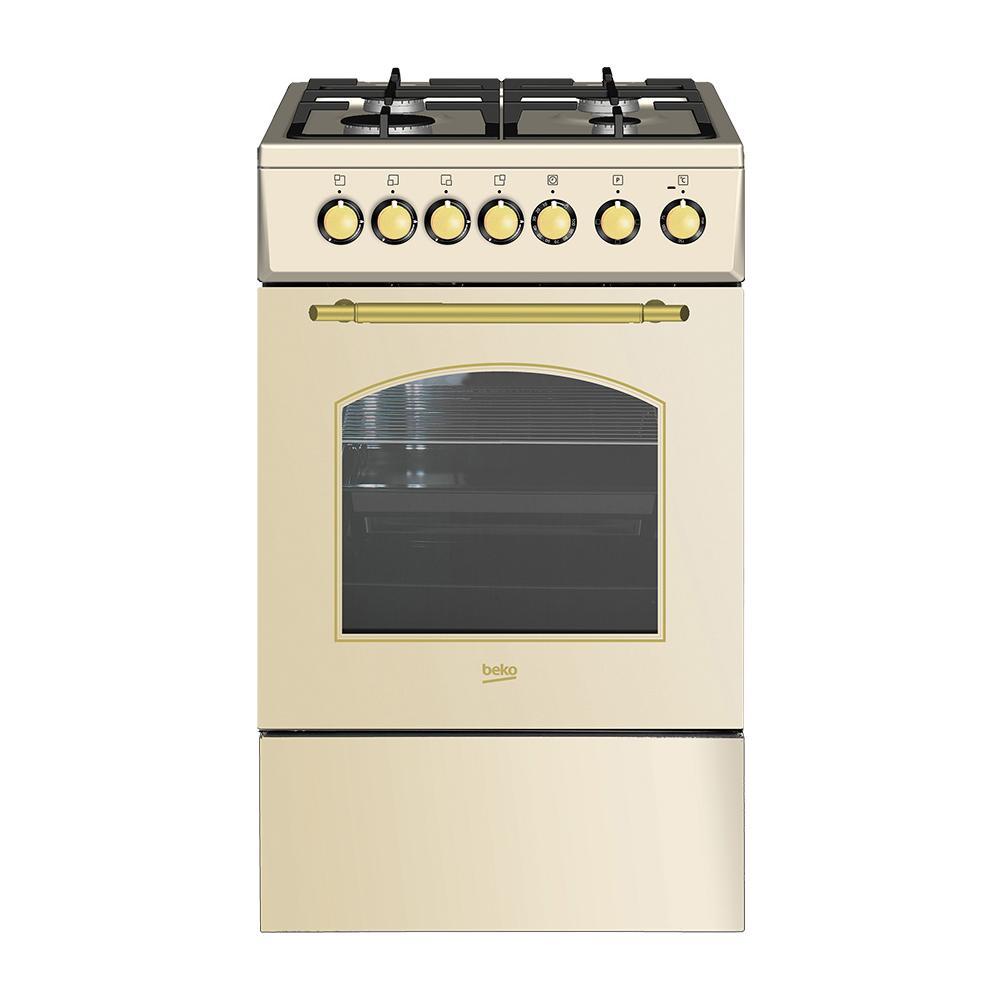 BEKO - Cucina Elettrica CSS52125DCR A Libera Installazione 50x60 cm ...