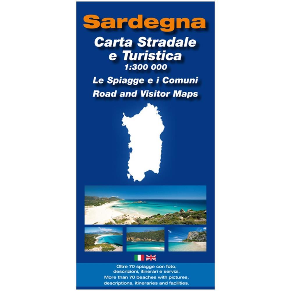 Cartina Sardegna Turistica.Spanu Cartina Sardegna Stradale E Turistica 1 300 000 Eprice