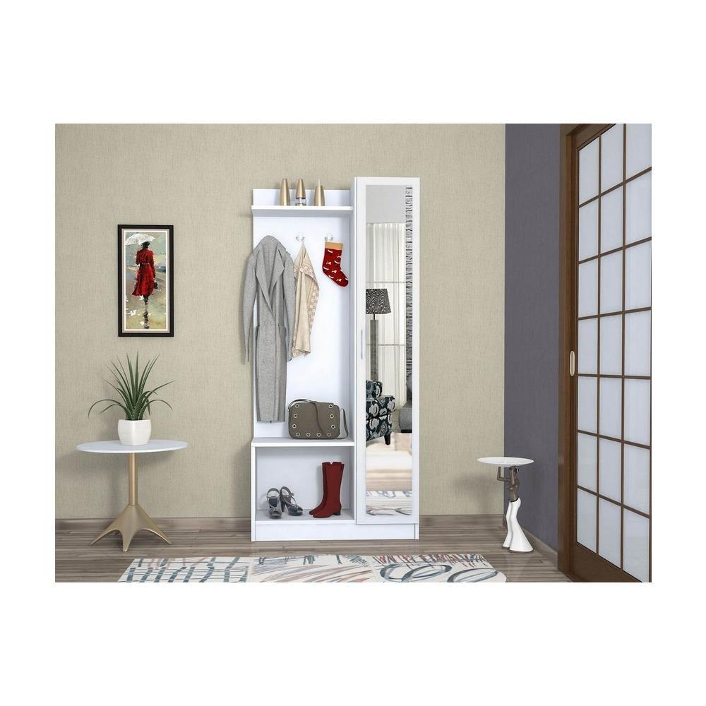Homemania Mobile Ingresso Mensola Attaccapanni Appendiabiti Orion Noce -  Casa Arredo Design - Per Entrata, Abiti - Appendiabiti, Armadio - ...