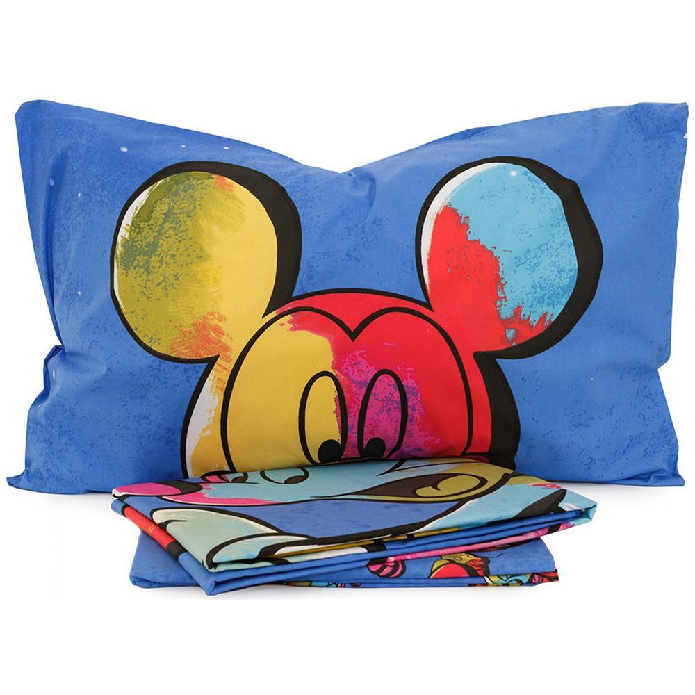 Copripiumino Topolino.Walt Disney Completo Copripiumino Topolino Color Disney Caleffi