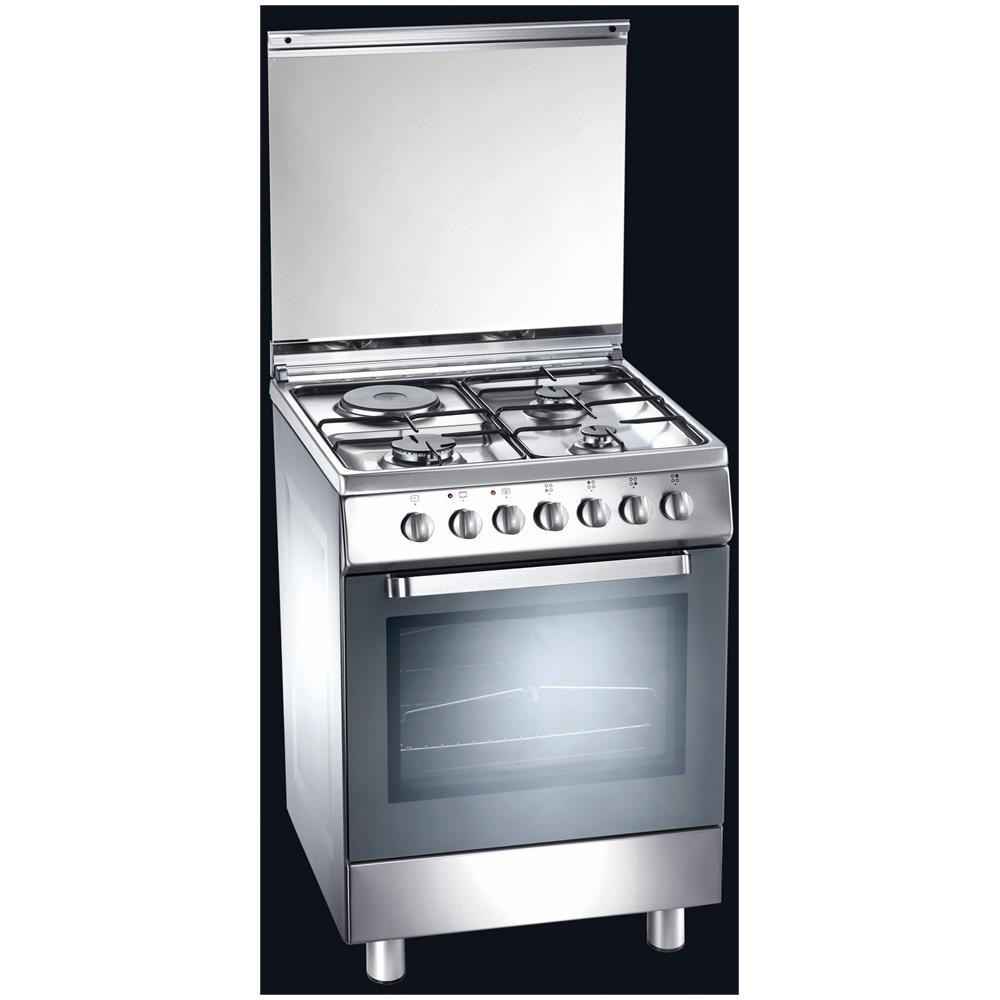 Tecnogas d61xs cucina a gas con piastra elettrica e - Eprice cucine a gas ...